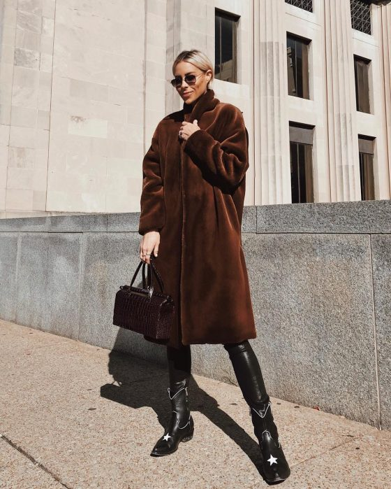 toteme faux fur coat