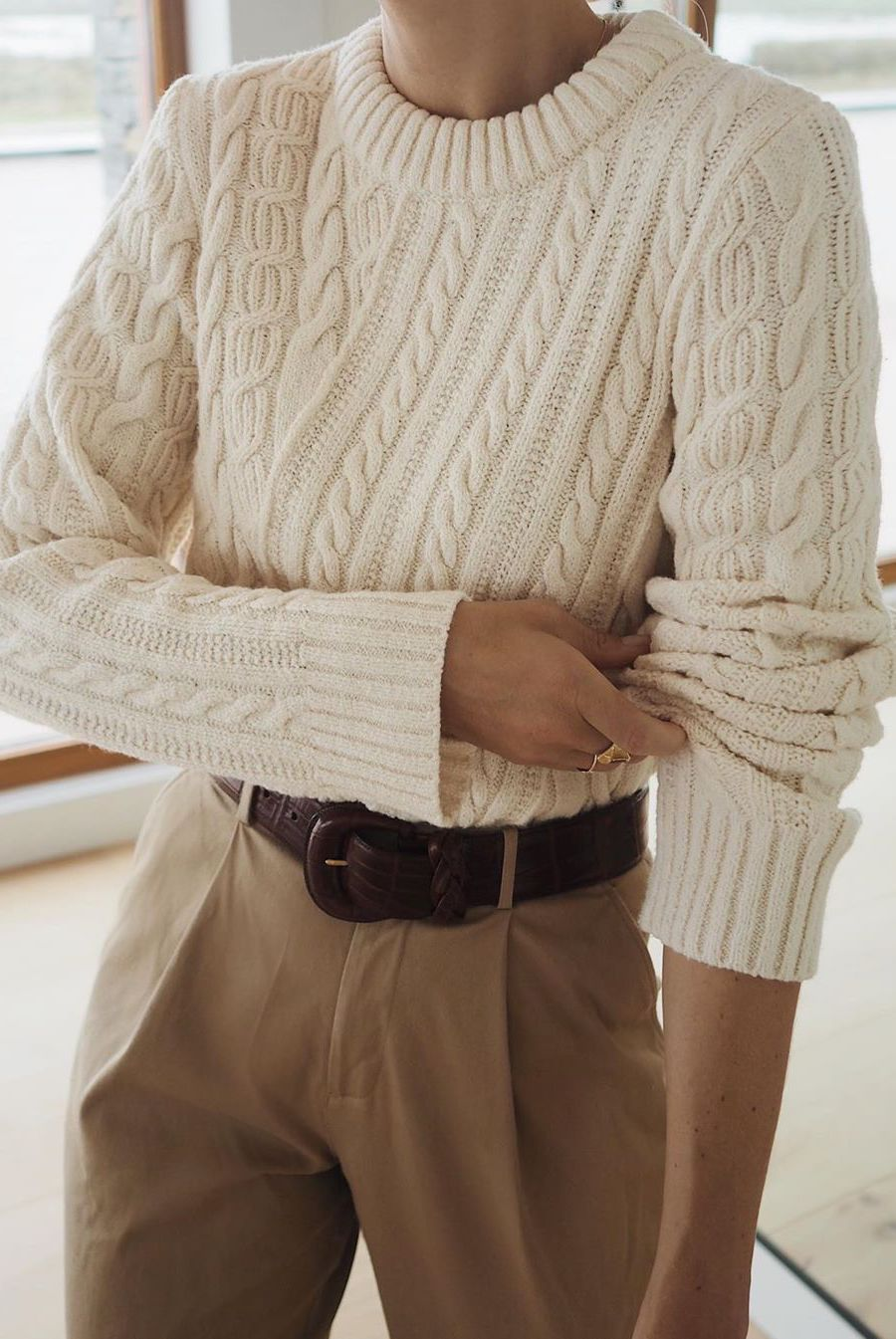 cable knit sweater 2020