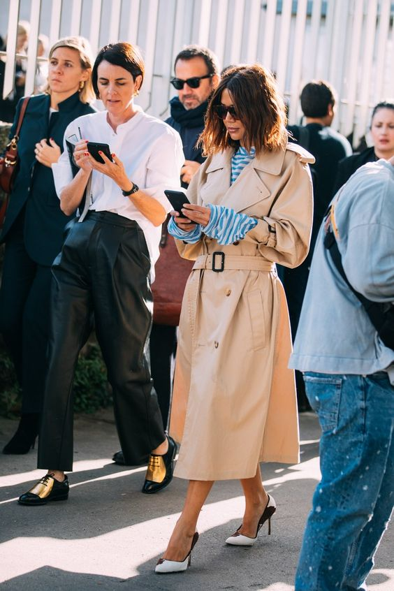 how to wear trench coat street style looks