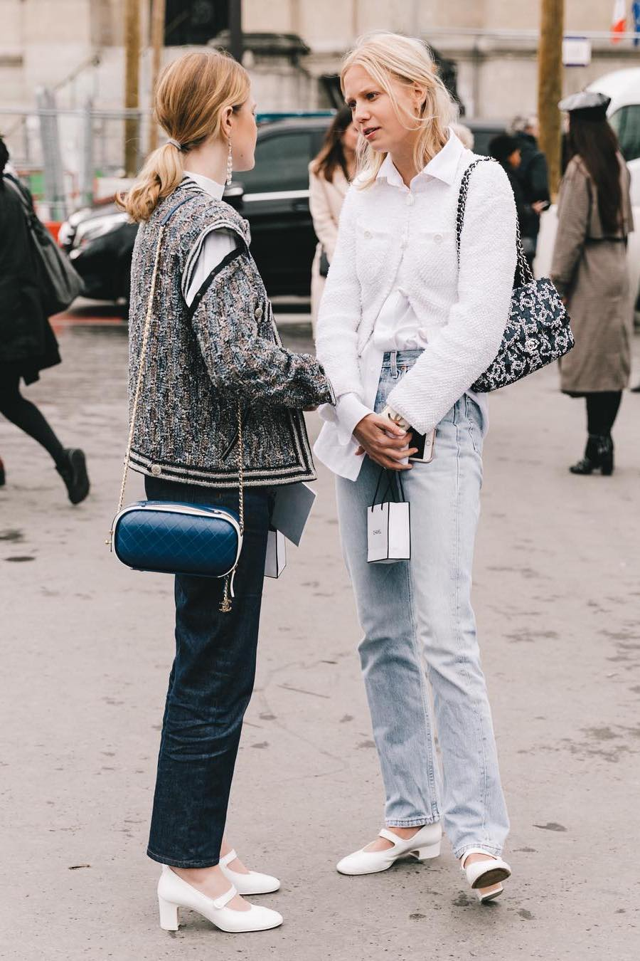 white button down shirt outfit street style