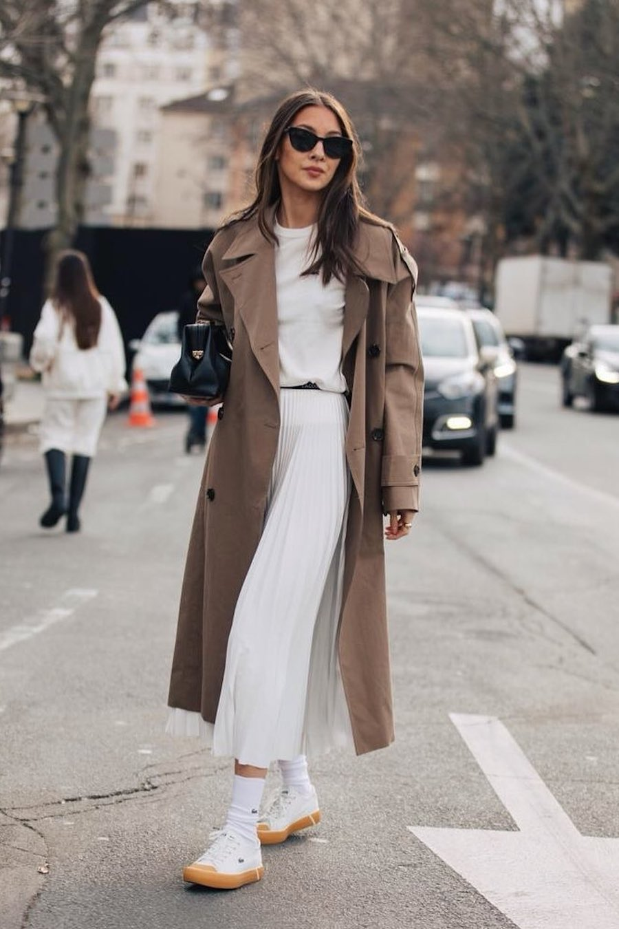 Trench coat outfits for spring 2020