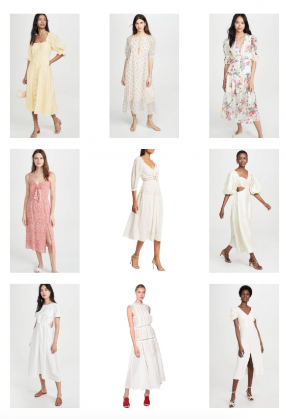 GORGEOUS MIDI DRESSES FOR SPRING & SUMMER