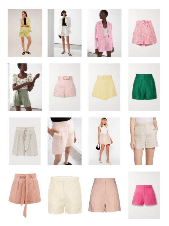 15 Pairs Of Linen Tailored Shorts To Wear Now