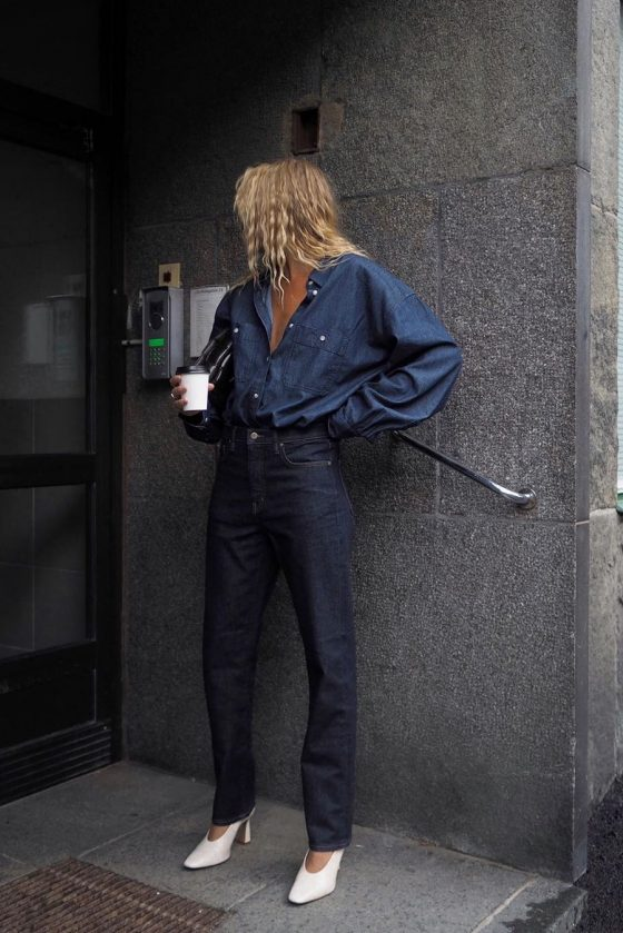 all denim outfit 2020