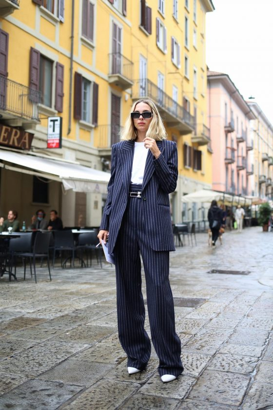 how to style oversized suit 2020