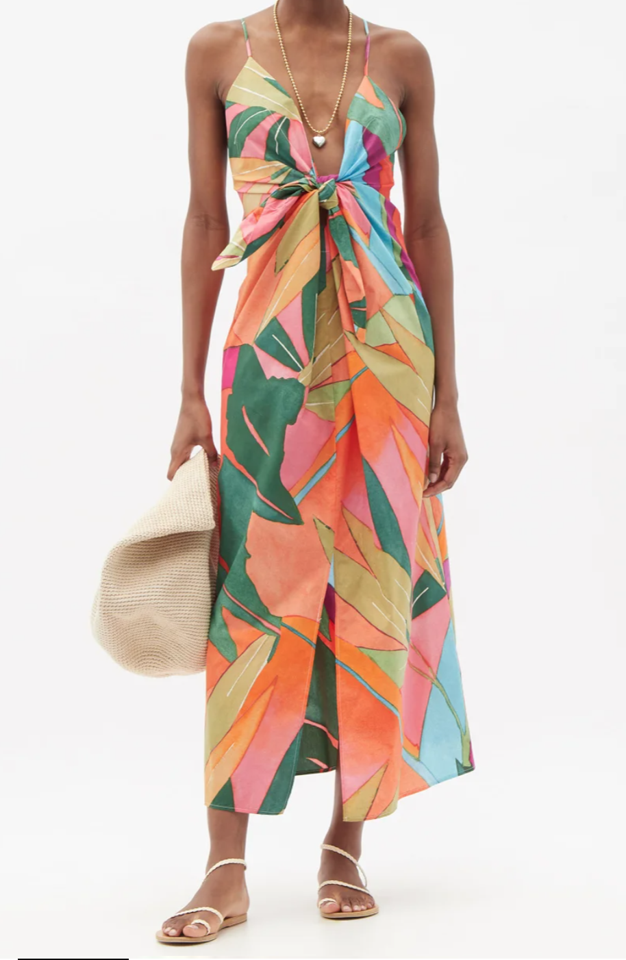 What to wear with your beach maxi dress